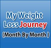 पतले होने का सफर महीने दर महीने