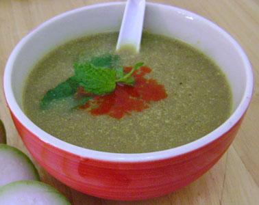 लौकी का सूप