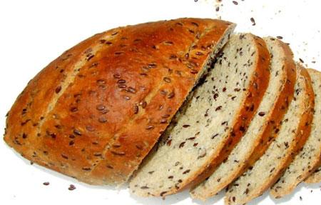 flaxseed healthy bread