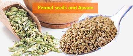 Fennel seeds Ajwain Water