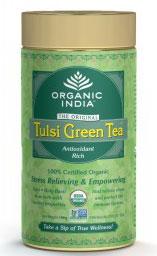 Organic India Green Tea