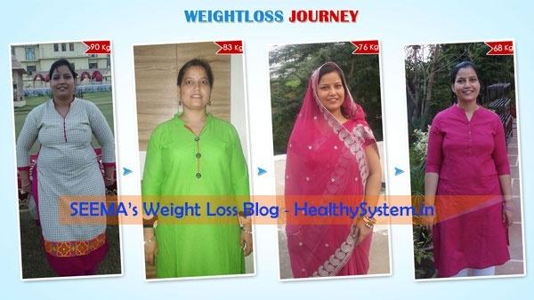 Seema Weight Loss Journey