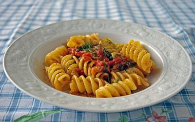 Healthy Tomato Pasta