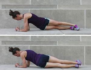 Plank with Hip Twist
