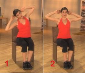 Chair Oblique Exercise