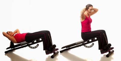 Gym Decline Situps