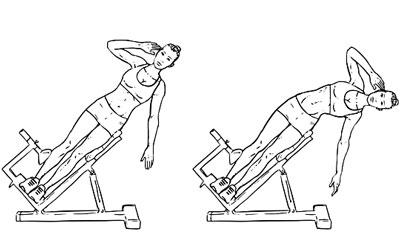Roman Chair Side Bend